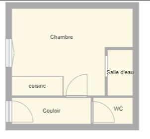 Plan appartement bleuets