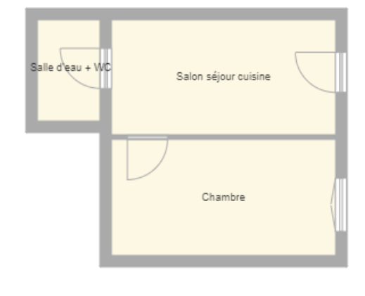 Plan appartement anis