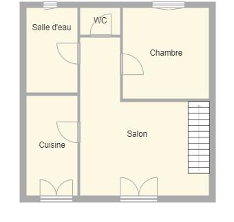 Plan appartement tournesols rdc