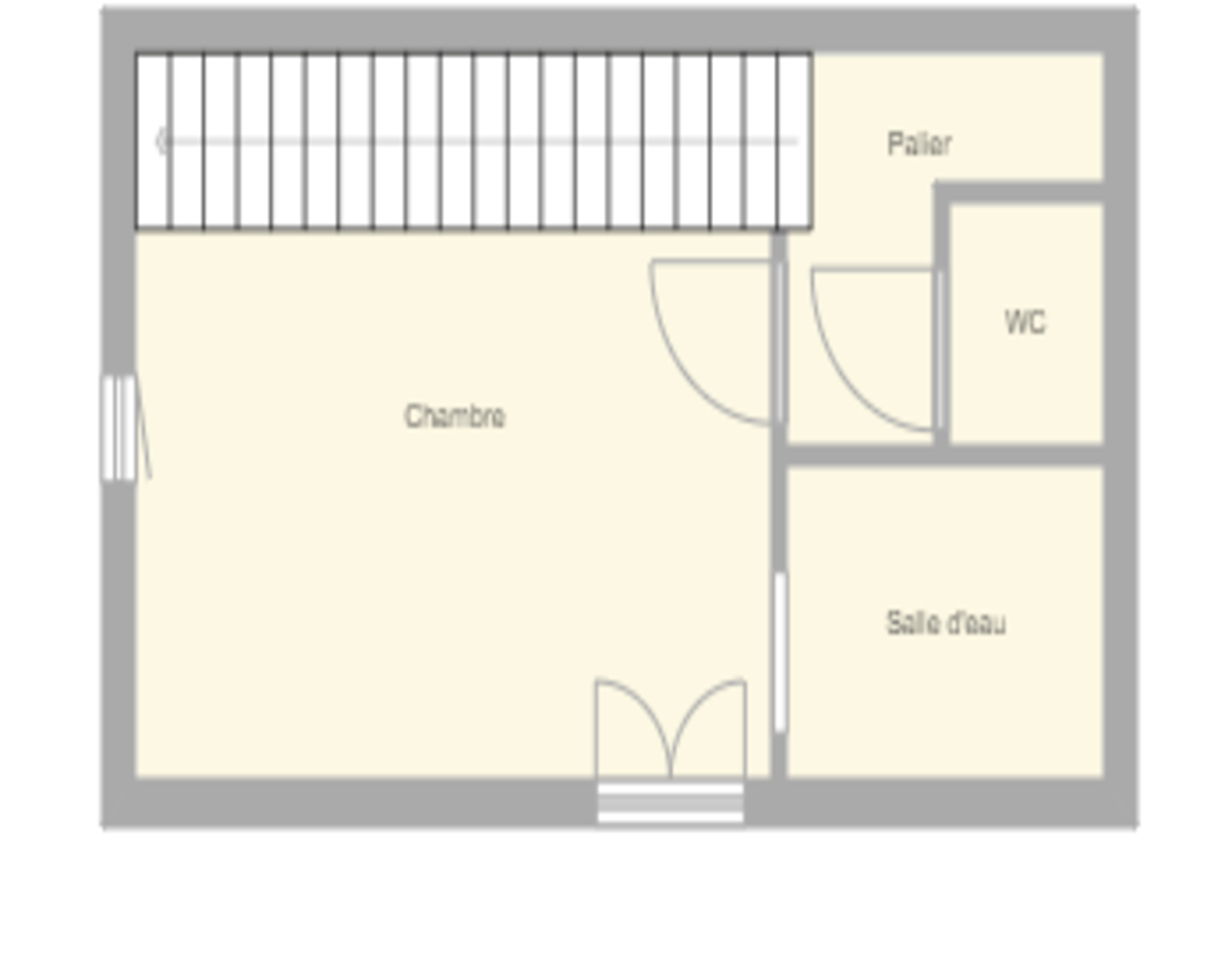 Plan appartement vignes etage